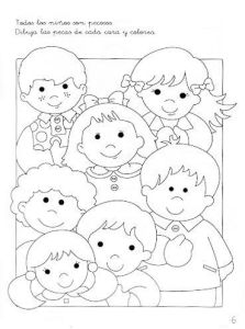 Fichas coordinación visomotriz preescolar