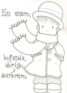 rimas del invierno para niños