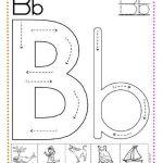 caligrafía letra b