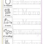 ejercicios caligrafía letra m
