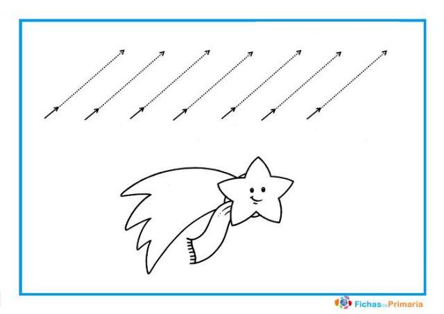 trazos diagonales para imprimir