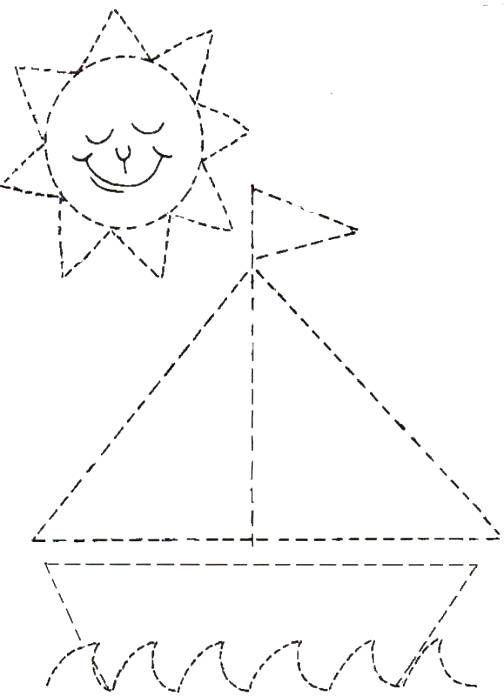 Dibujos para delinear para niños - Fichas de primaria