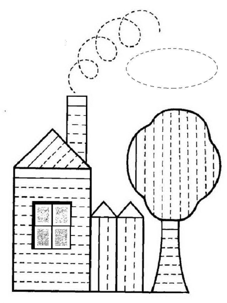 Dibujos para delinear para ni os fichas de primaria - Dibujos pared infantil ...