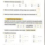 ejercicios operaciones básicas fracciones