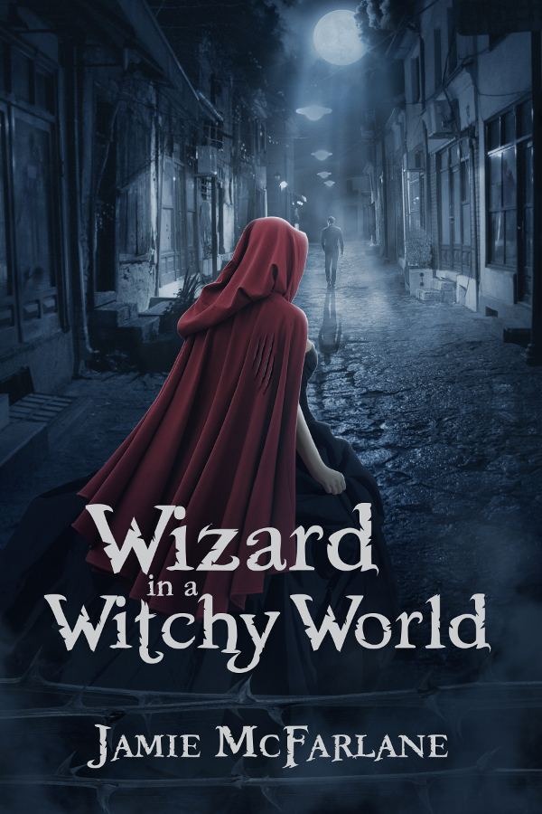 Wizard in a Witchy World Cover