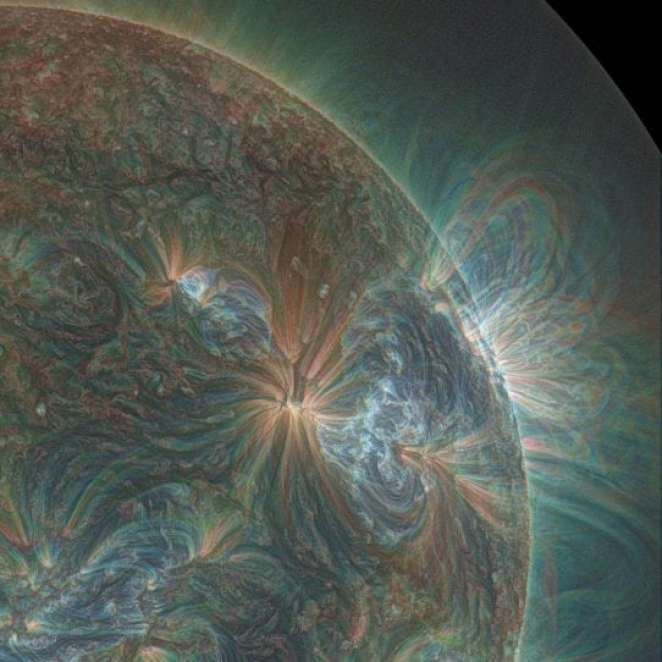 Ultraviolet Sun picture
