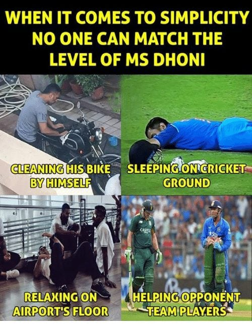 MS Dhoni's 'Simplicity Level' meme breaks the internet. People Are Posting Really Hilarious Tweets