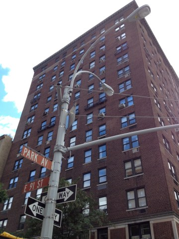 1133 Park Avenue, where Salinger spent some of his childhood -- one of the interesting bits of trivia from Salinger