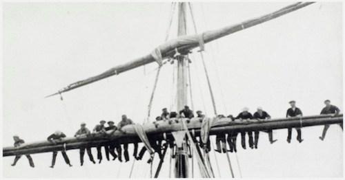 Jack London at sea