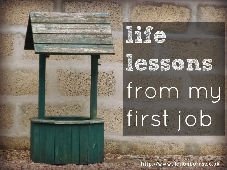 life lessons from my first job