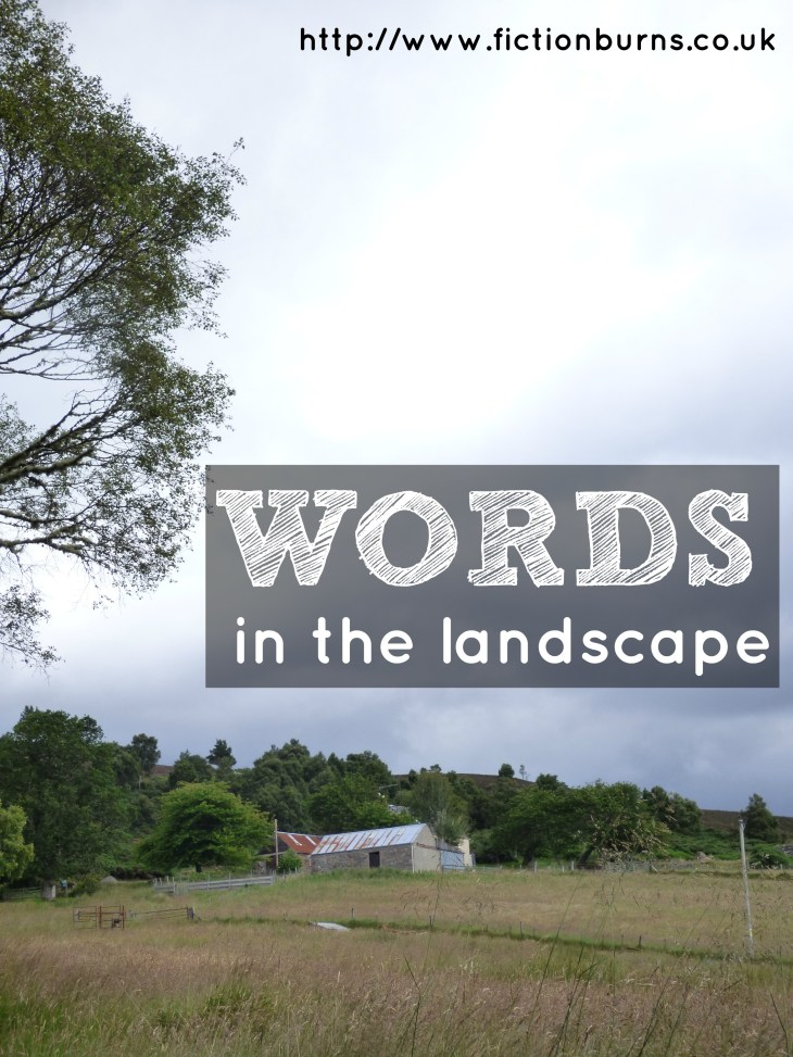words in the landscape