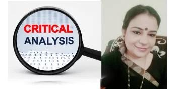 Sadaf Iqbal - A Critical Analysis