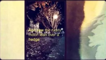 Autumn by T.E. Hulme analysis summary explanation review