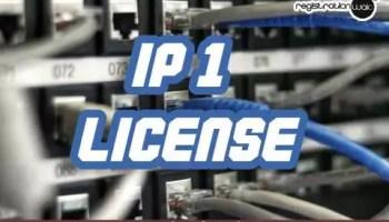 IP1 License