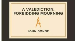A Valediction Forbidden Mourning by Donne