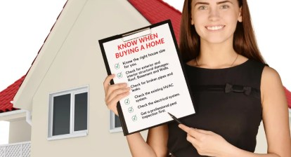 house, Checklist When Buying a New Home