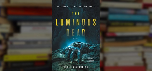 the luminous dead, read the luminous dead, read the luminous dead online, the luminous dead review, caitlin starling, caitlin starling author, caitlin starling debut, the luminous dead debut, the luminous dead book, sci fi book, new sci fi books, new 2019 sci fi books, young adult sci fi, ya scifi, scifi for teens, scifi for young adults, scifi thriller,