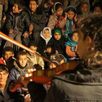 Eden MacAdam-Somer at Afghanistan National Institute of Music (ANIM)