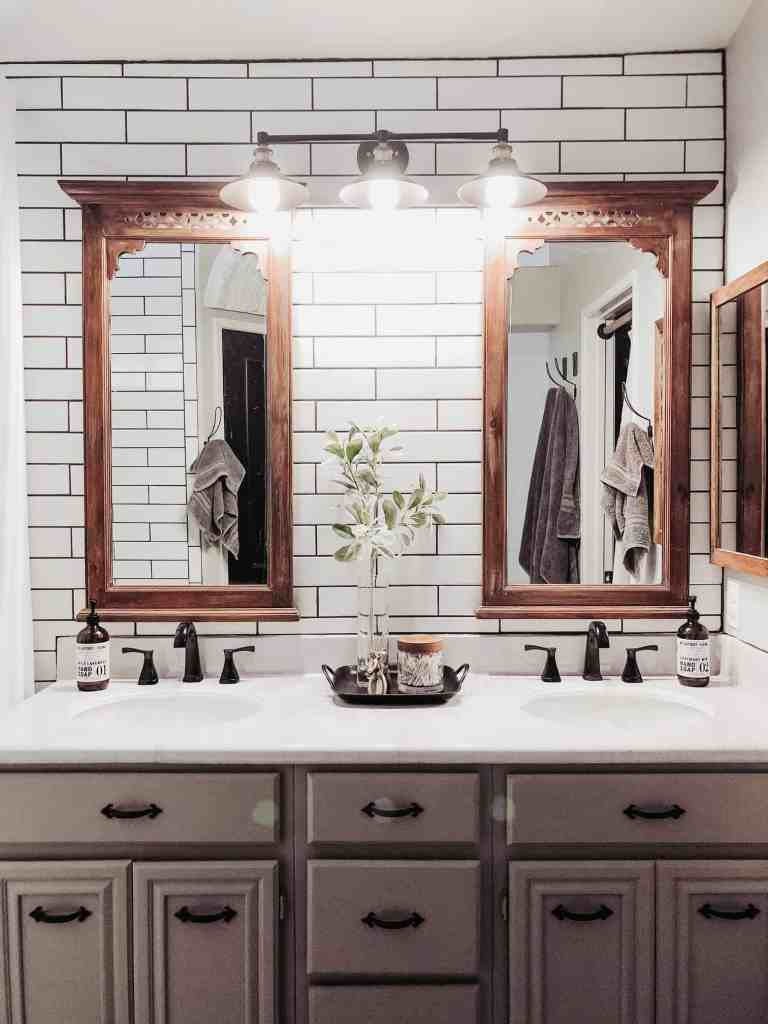 master bathroom renovation using instant granite