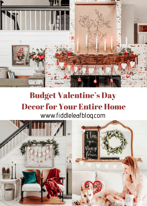 budget valentine's day decor for your home