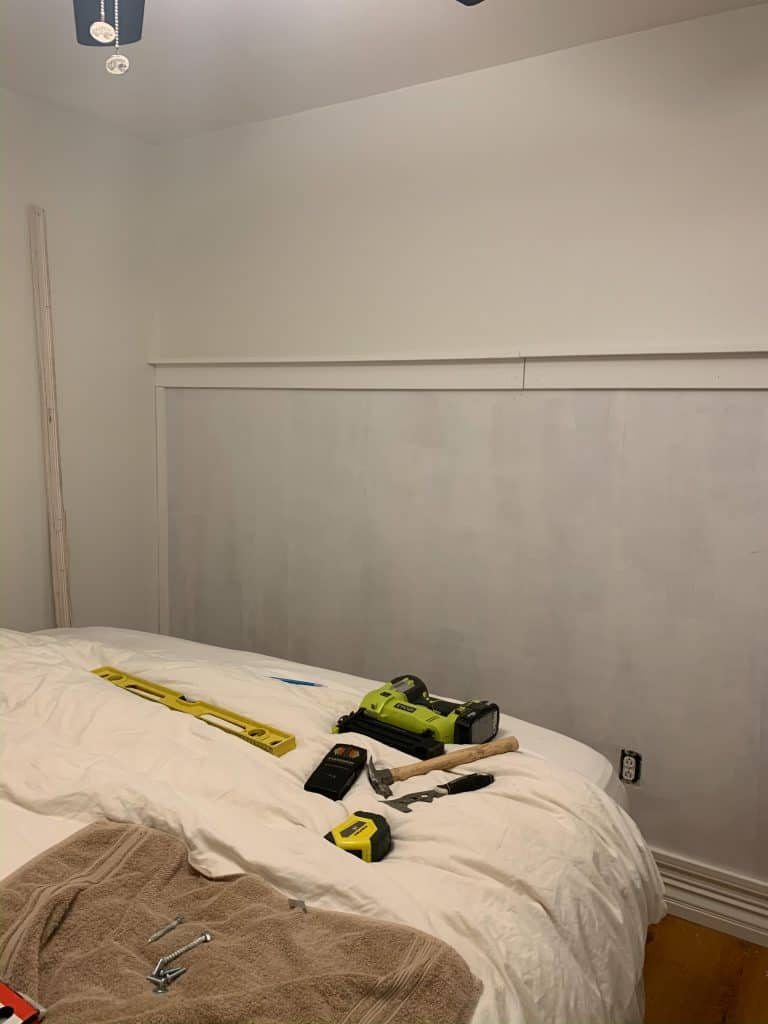 """1""""x4"""" and 1""""x3"""" fully installed (this is after priming, but you get the idea)!"""