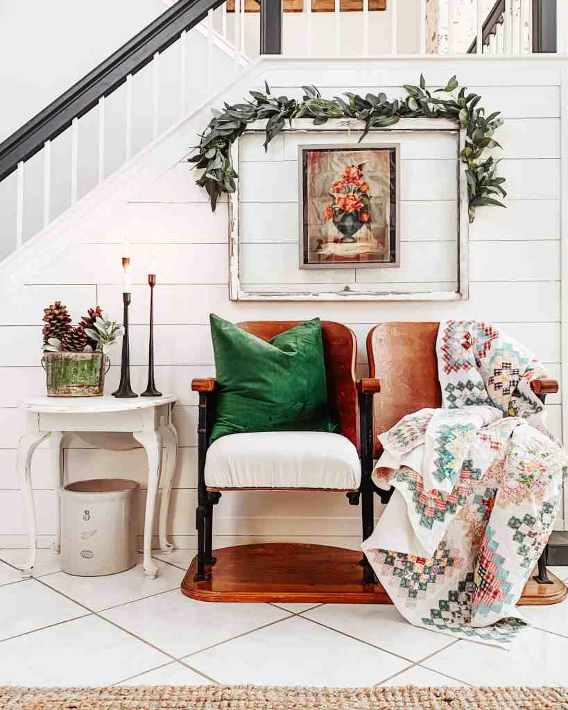 cozy winter time decor