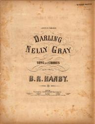 Darling Nelly Gray art