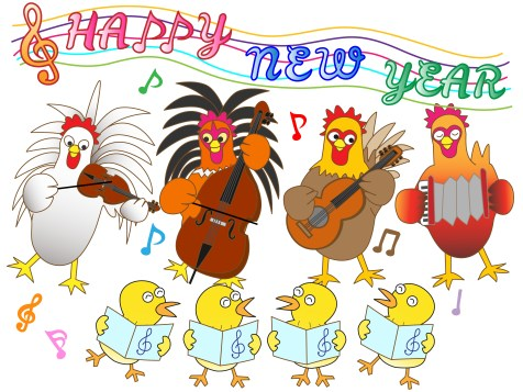 New Year Chickens
