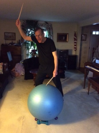 Gene Golebiewski Excercise Ball