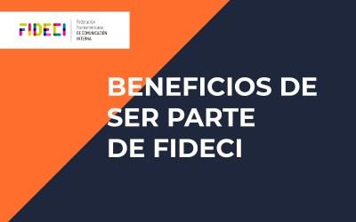 Por qué es una buena idea ser parte de FIDECI