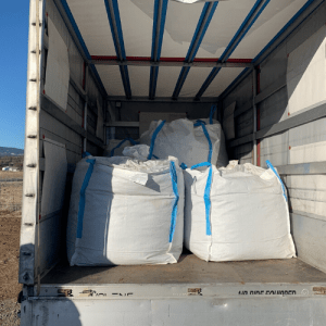 How much Hemp can fit into one truck?