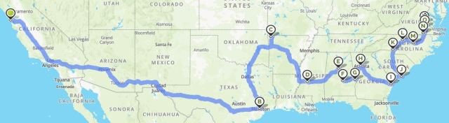 Live Plant Shipping Route