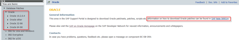 FAQ Oracle Patch Set (Windows) (3/4)
