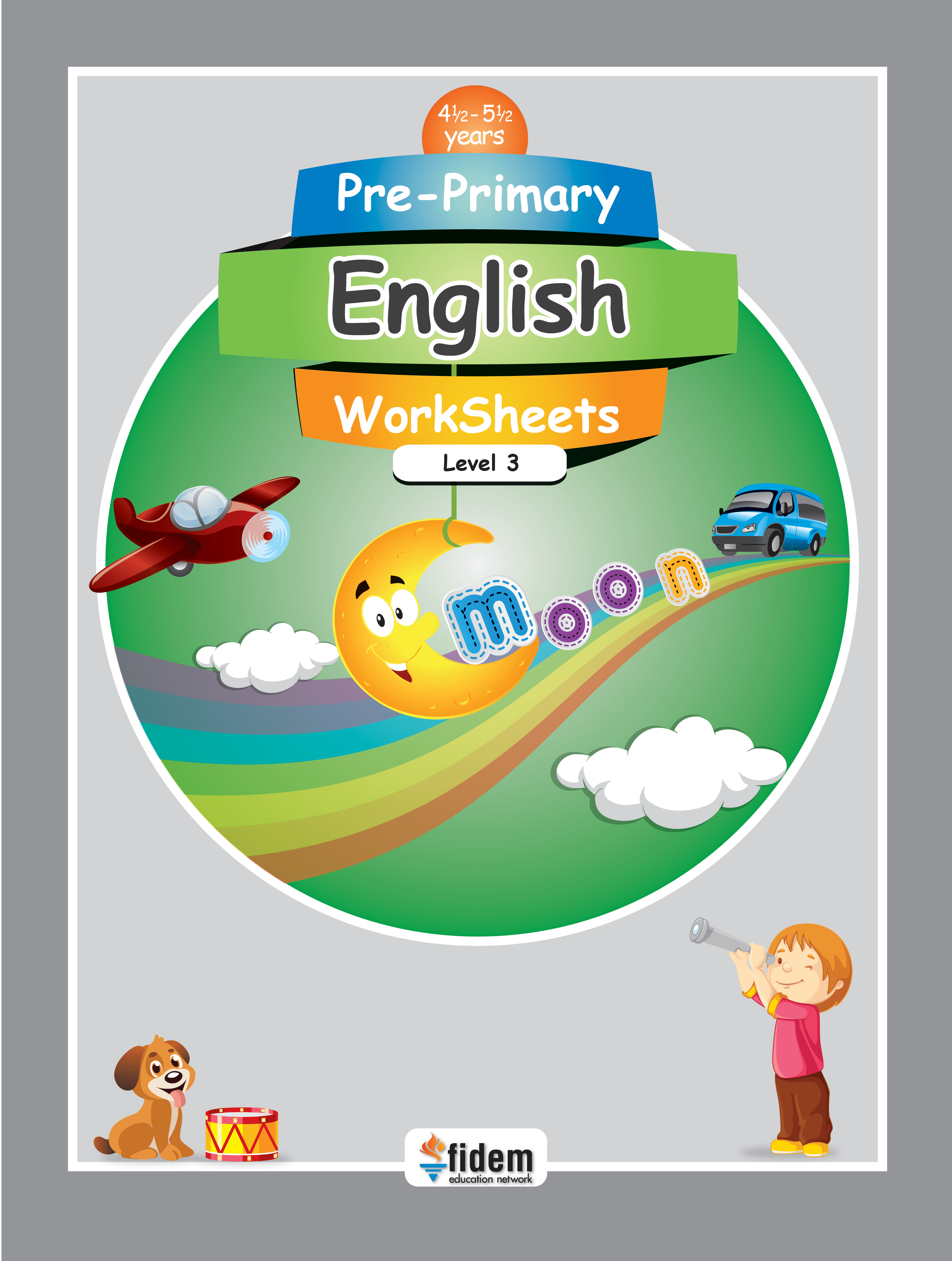 Pre Primary English Worksheets 3 Fidem Education Network