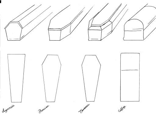 Cercueils forme