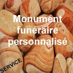 Tombe personnalisée