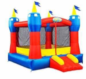 Blast Zone Magic Castle Inflatable Castle