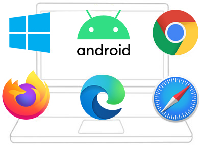 Supported Natively Across Browsers and Platforms