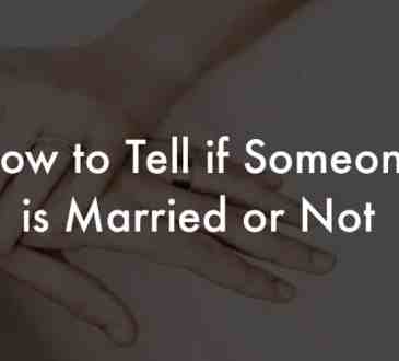 Find out if Someone is Married