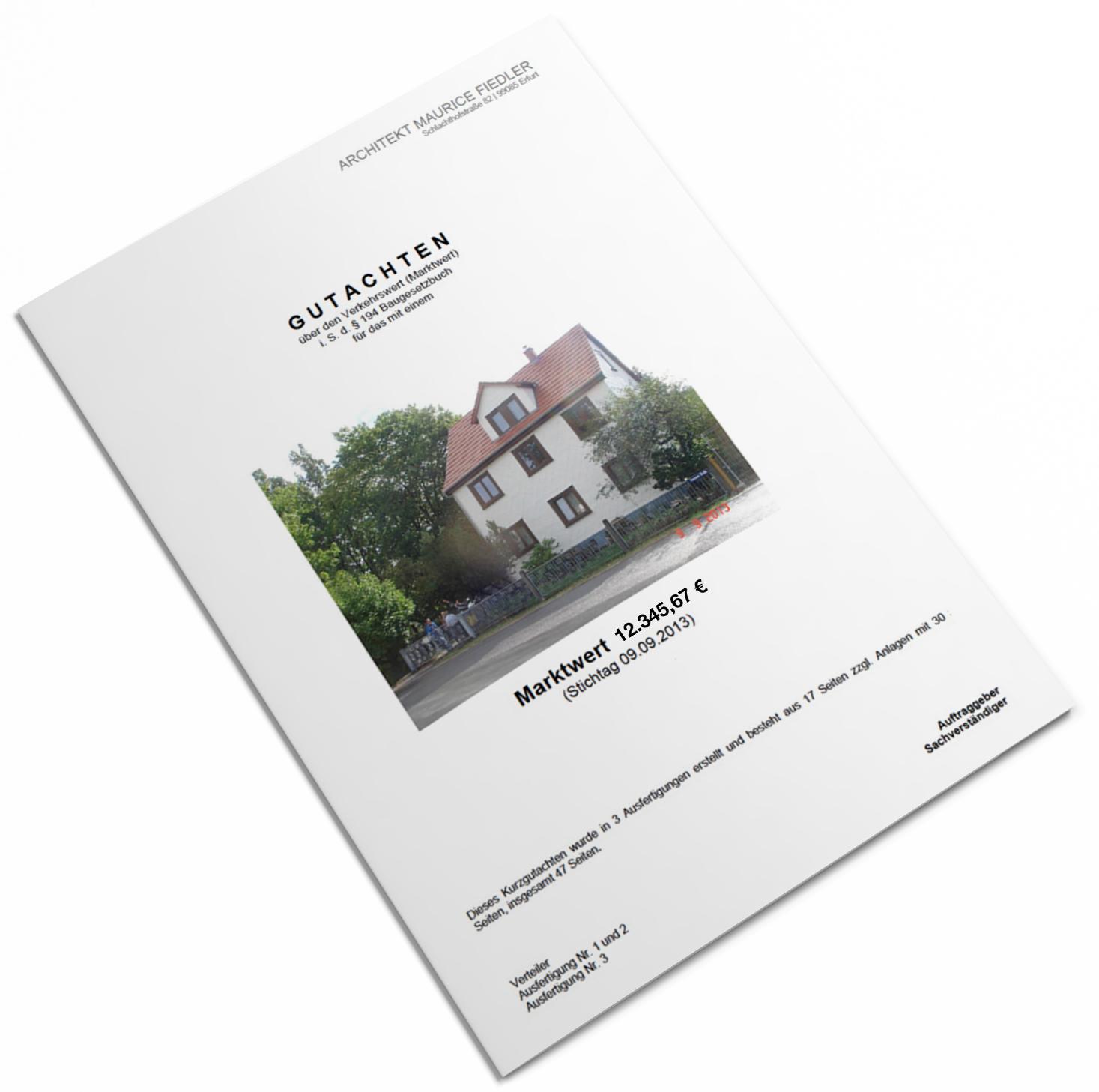 Immobilienbewertung Erfurt | ARCHITEKT MAURICE FIEDLER