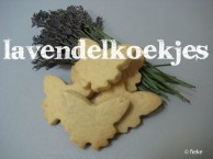 28 Lavendelkoekjes - met tekst