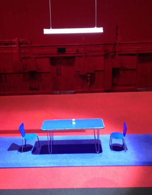 Bob Crowley, Half a Glass of Water, stage design, David Ireland