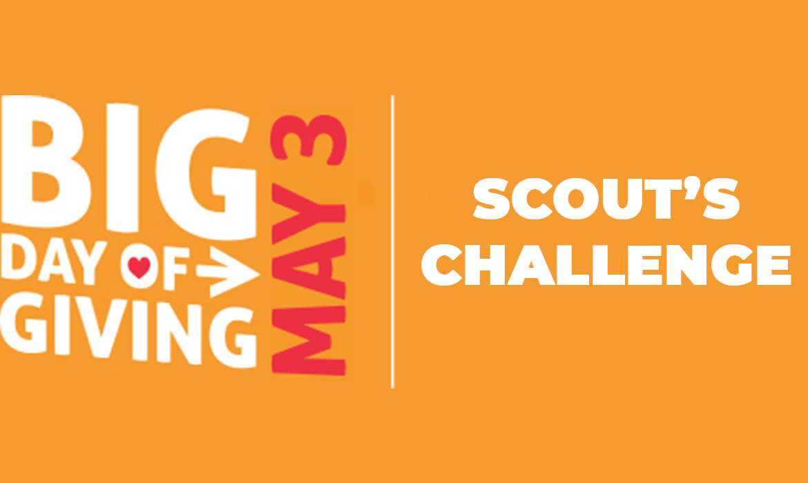 Join Us for Scout's Challenge!