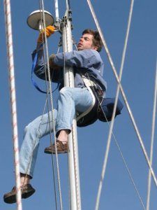 If required and if safe to perform, most types of marine survey can include a rigging inspection