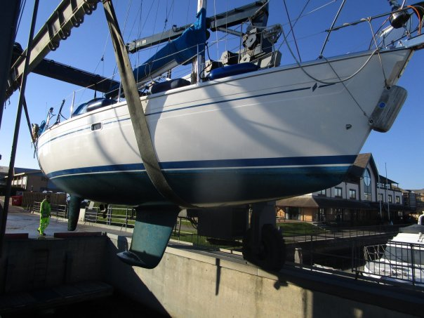 Pre-purchase survey of Bavaria 36 at Port Solent Marina