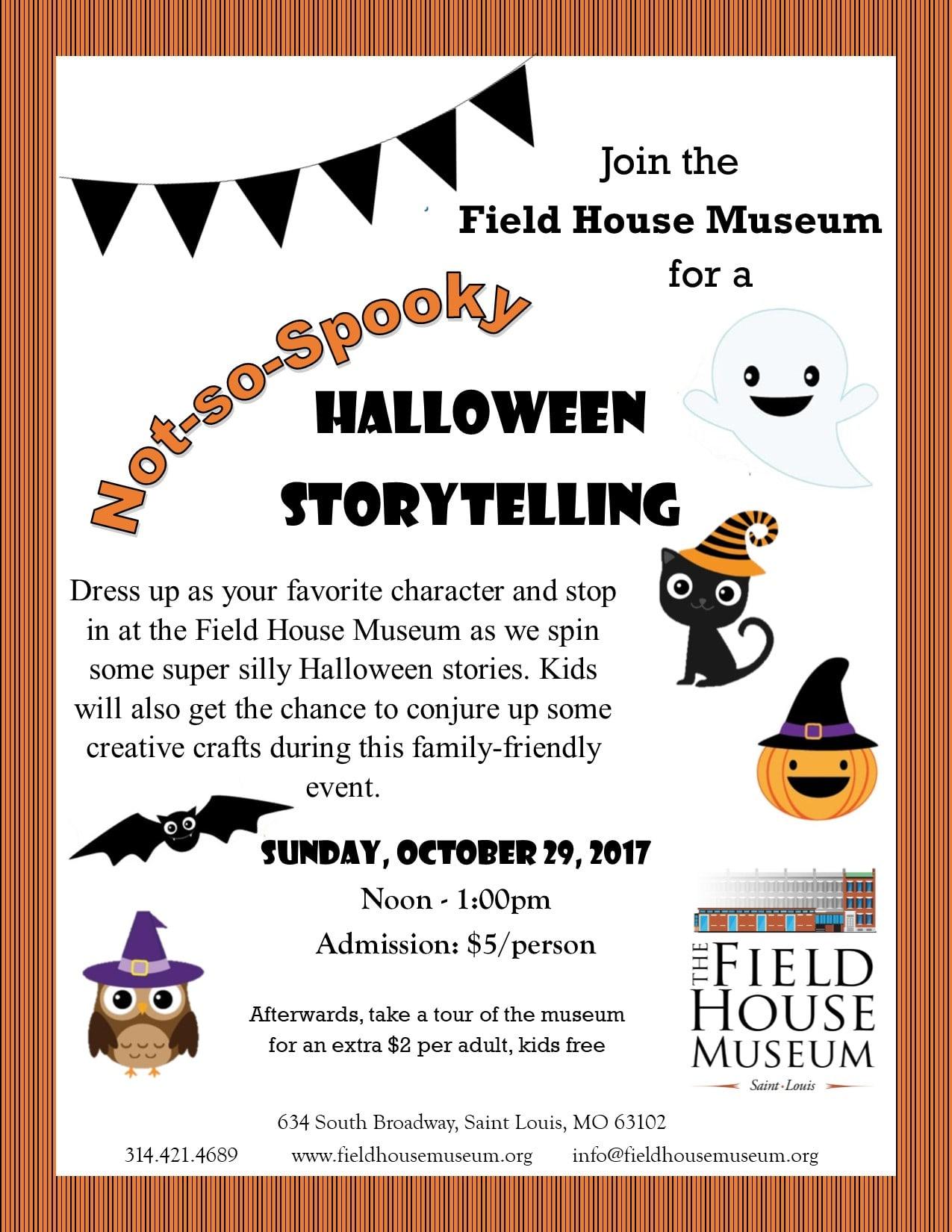 Not So Spooky Halloween Storytelling