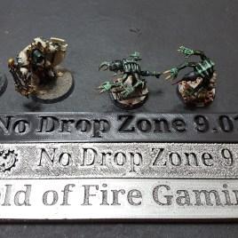 Danger Zone 9″ Markers