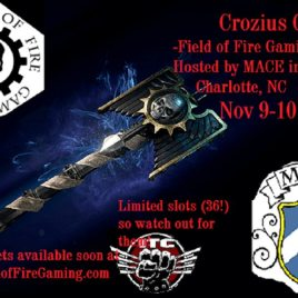 Crozius Grand Tournament – MACE Gaming Convention