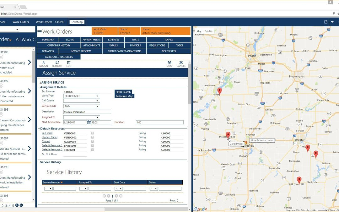 Fieldpoint Offers Customers Advanced Mapping Capabilities, Real-Time Location Services and Comprehensive Route Planning