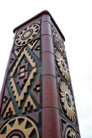 Convergence - South pillar detail